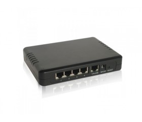 NEXUS POE SWITCH, 4 KANALS